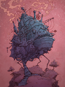 Howl's Moving Castle by Ghotire