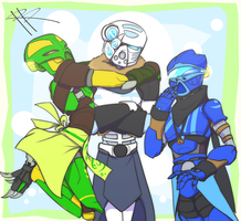 Bionicle G3 - Girl Time by RRproAni