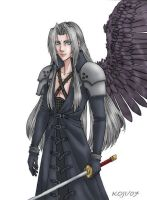 KitchigaiKoji2 Sephiroth Color by Burnt-Angel-Wings