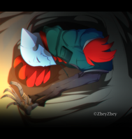 Sleeping by ZheyZhey
