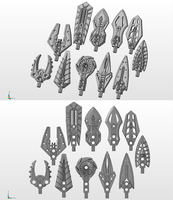 3D work : Staves concepts 3 by vahki6