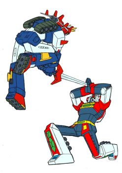 Voltes vs Daimos by ocboy by Robot-Japan