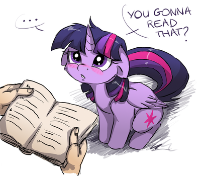 You gonna read that? by ButterSprinkle