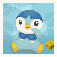 Baby Plup by pokelugia