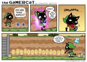 The GaMERCaT - Self-Made Millionaire by celesse