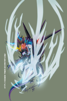 Digimon Fusion CCG FAN CARD - RAIDRAMON ARTWORK by veemon-tamer