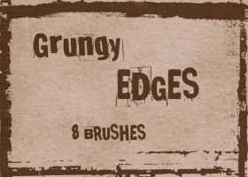 Grungy Edges by wyckedBrush