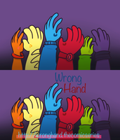 Wrong Hand Cards by StarSeedDreamer