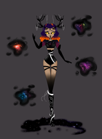Mindy Nocturne Wrath of the Black Holes by OliveEliffilter