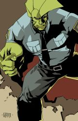 Savage Dragon by johnnymorbius