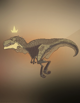 t-rex by Rodendron