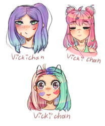 acid sketches by VickiGreat
