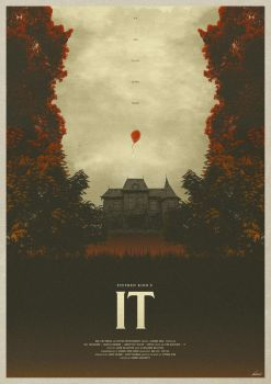 We All Float - It (2017) Poster by edwardjmoran