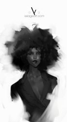 Black Women Series: Day 2 by HowlSeage