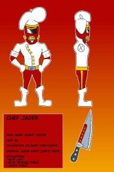 Chef Jager 2018 Reference Sheet  by Krazy-dog
