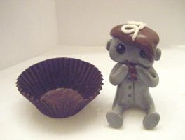 Chocolate Snack Cake Robot 2 by sleepyrobot13