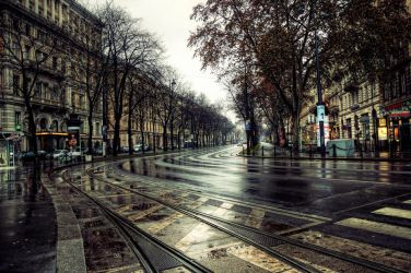 Winter in Vienna III by Michela-Riva