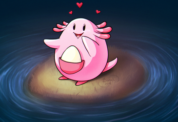 Chansey by BonkiHart