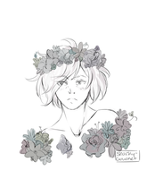 Yurio W/ Flower Crown by snarky-gourmet