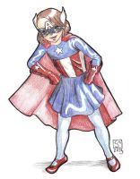 RGD-cmorgan46 - Miss Captain America! by The-Tinidril