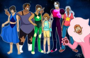We Are The Voltron Gems! by AliAvian