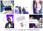 Supernatural Icons by thestarwhales