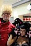 Vash and Kuroneko by geekypandaphotobox