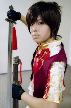 Dynasty Warriors 8: Lu Xun by xXSnowFrostXx