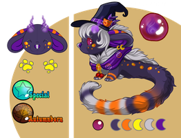 Halloween Witch Fuzzling Auction CLOSED by PixelRaccoon