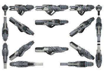 Mass Effect 3, Adas Anti-Synthetic Rifle Ref. by Troodon80