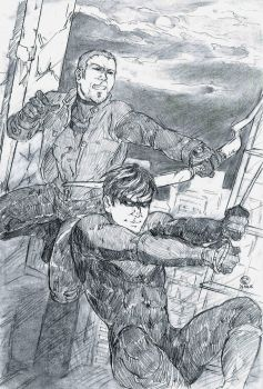 The Outsiders: Roy and Dick by kwun-kwun