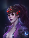 Widowmaker Portrait - Overwatch fan art by TinyTruc