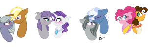 Crystalverse: Pie Shippings by ThePegasisterPony