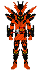 Kamen Rider Cross-Z Magma by Zyuoh-Eagle