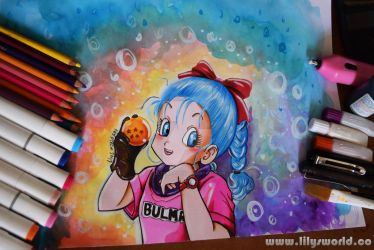 Bulma by Lilysworld05