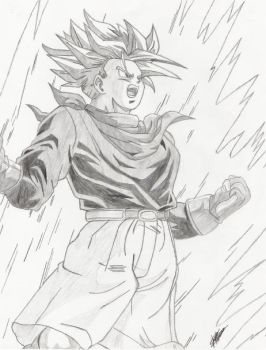 Trunks Power Up by the14thgod