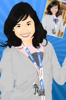 Vector of Liyana Jasmay by jefferyz