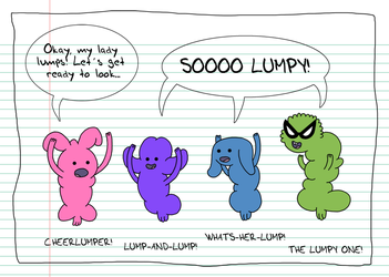 Teen Lump Squad by MadLunarKnight