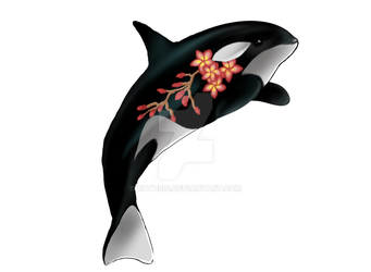 Tattoed whale by Ruthsic