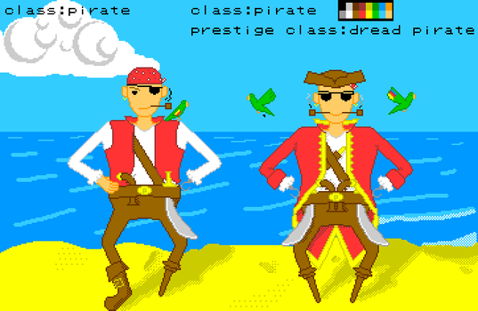 DnD Double Pirate by Jamato-sUn