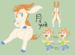 Yue reference by Heise-kun