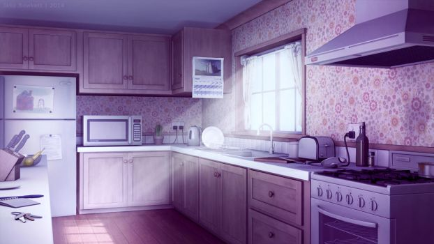 Kitchen by JakeBowkett