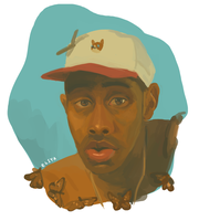 Tyler the Creator by Treetrunk124