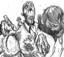 ZOMBIES by MisterTribble