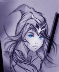 Ashe by ryky