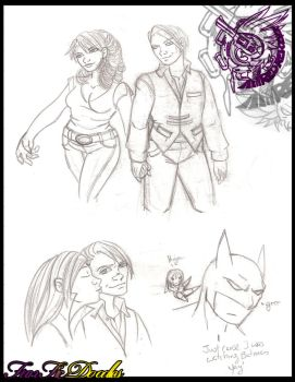FF7 FanFic Doodles by Fanglicious