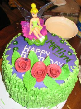 Tinkerbell Cake 3 by hsawaknow