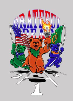 Olympic Bears by jrieman
