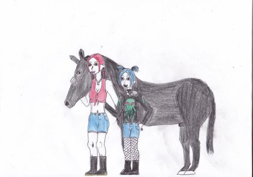 Molly and Caitlin by Demonizer68