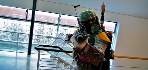 Boba Fett hunting Videographers at DeDeCo by DieselsVideo